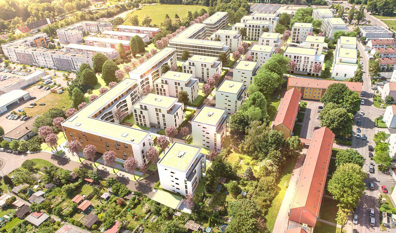 Immobilenmarketing Ackermannpark - Augsburg 2020