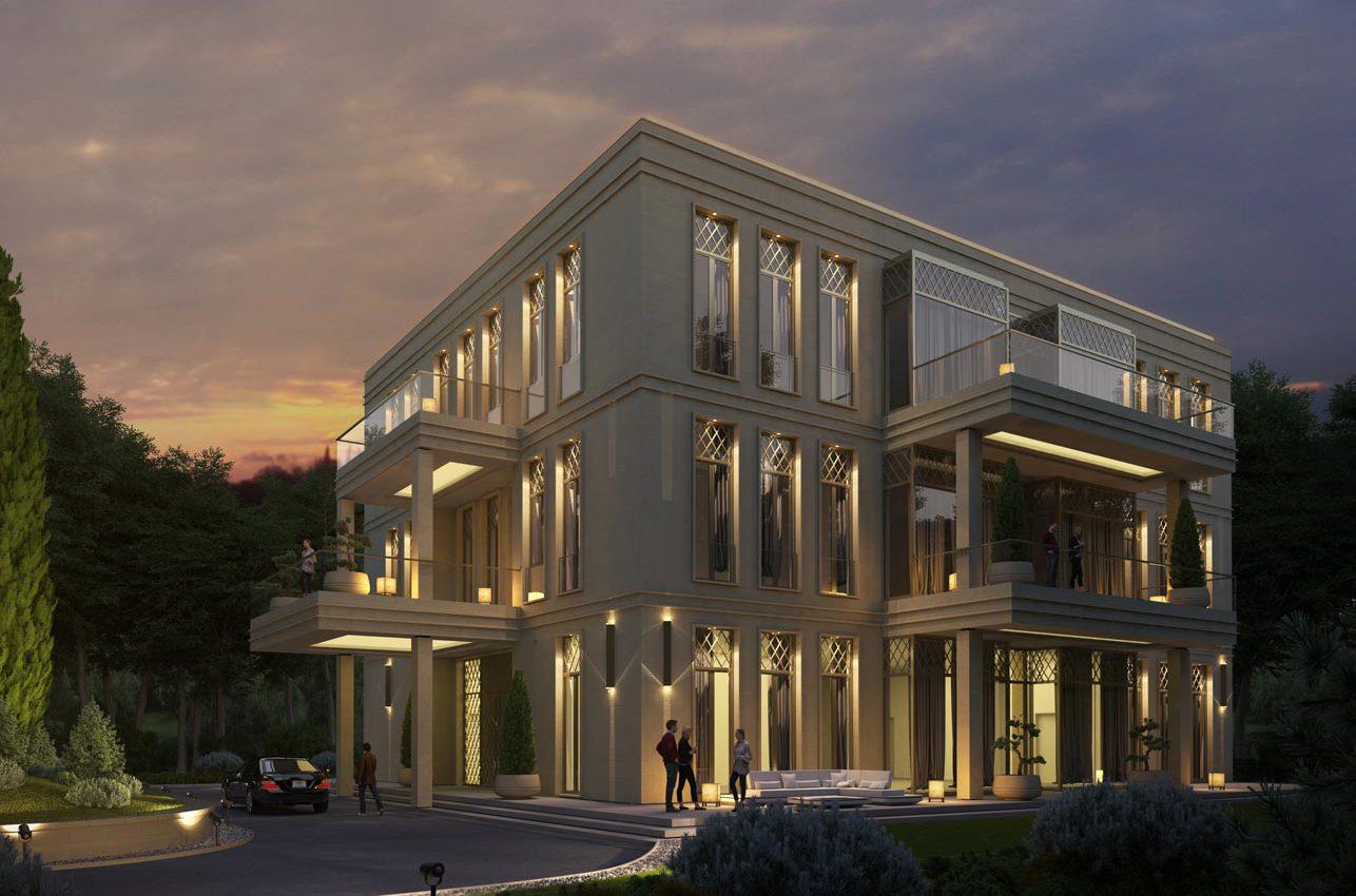 Architekturvisualisierung Hotelneubau 2019