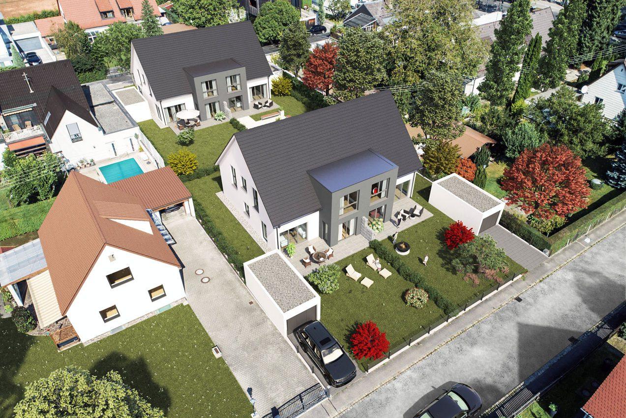 Immobilienprojekt Alpspitzstraße Augsburg 2020