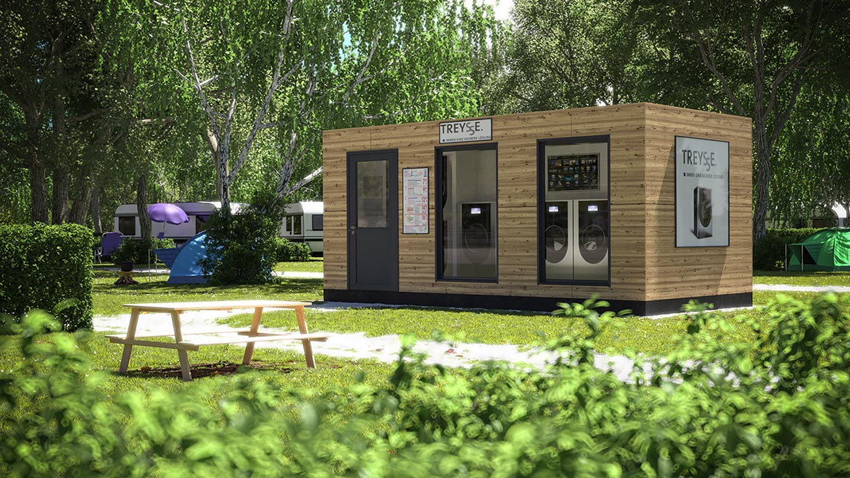 3D Visualisierung Tiny House 2021